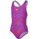 speedo Boom Allover Swimsuit Children pink/purple